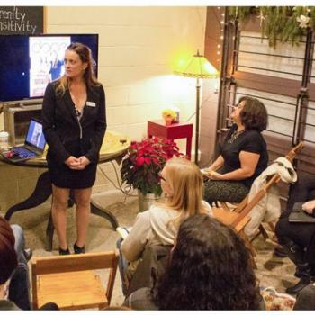 women grow ann arbor, bloom city club ann arbor, december networking event